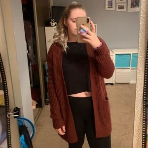 Sweaters - Target red Cardigan